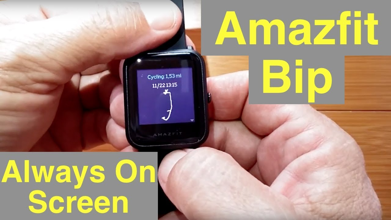 Amazfit BIP for fitness