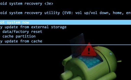 system recovery mode