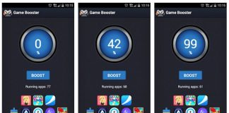 Aplikasi game booster android