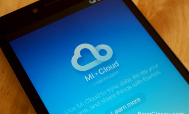 Cara Menghapus Data di Akun Mi Cloud